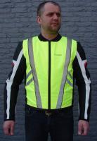 Motocyklová reflexní vesta Lookwell Motocyklová reflexní vesta Lookwell - XS