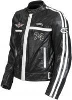 Bunda Lookwell LTD ´74 černo-bílá Bunda Lookwell LTD ´74 černo-bílá - černá, 48